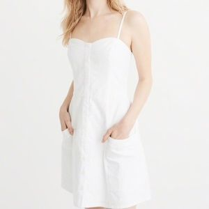 ABERCROMBIE & FITCH Button-Up Mini Dress